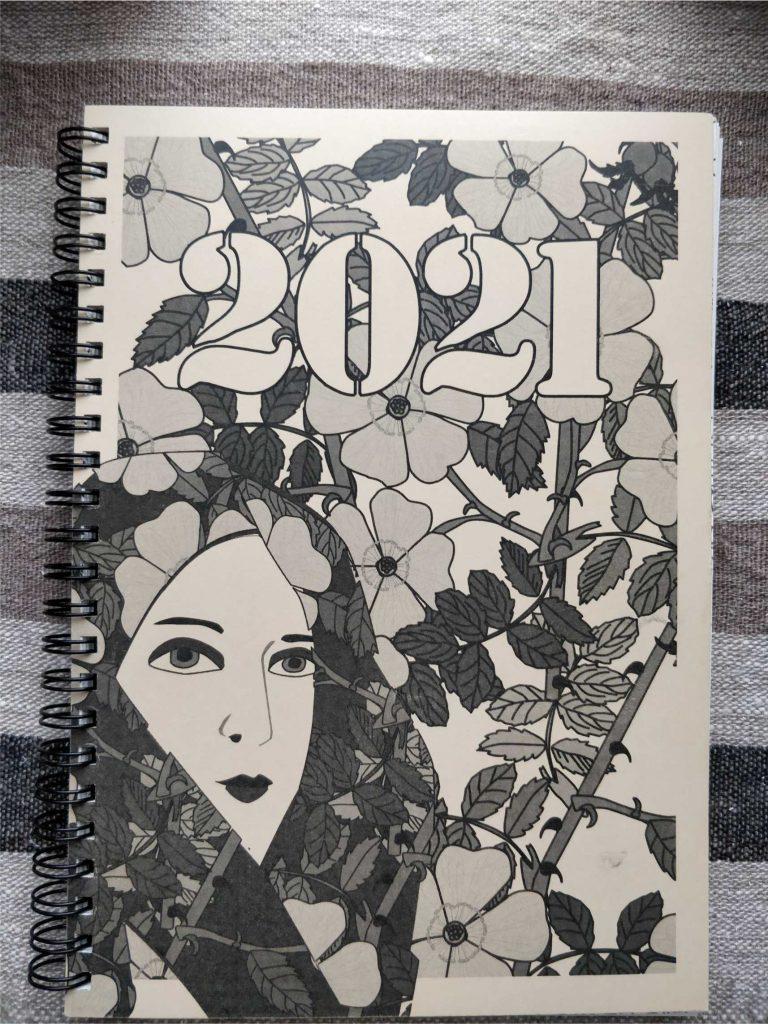 Viikkokalenteri 2021 kansi